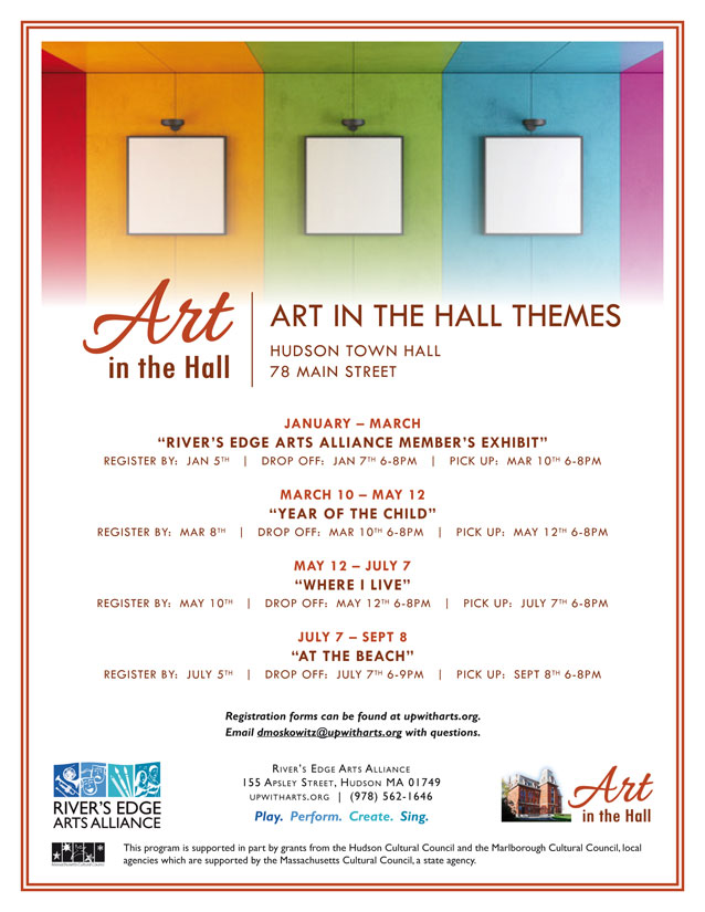 Art in the Hall Update…