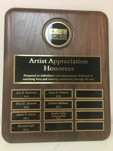 River's Edge Arts Alliance: Artist Appreciation Award