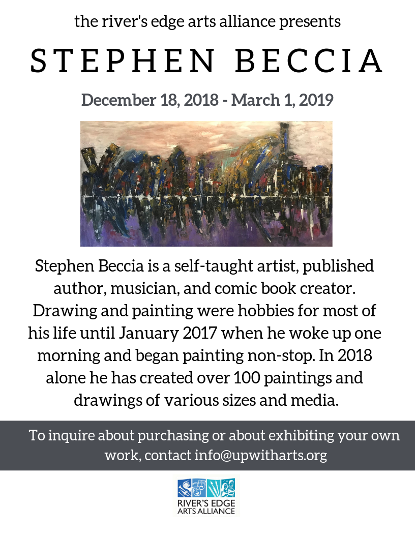 River's Edge Arts Alliance: Stephen Beccia at Cafe 641
